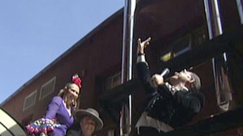 'Sálvame' cumple años y lo celebra con su particular Feria de Abril
