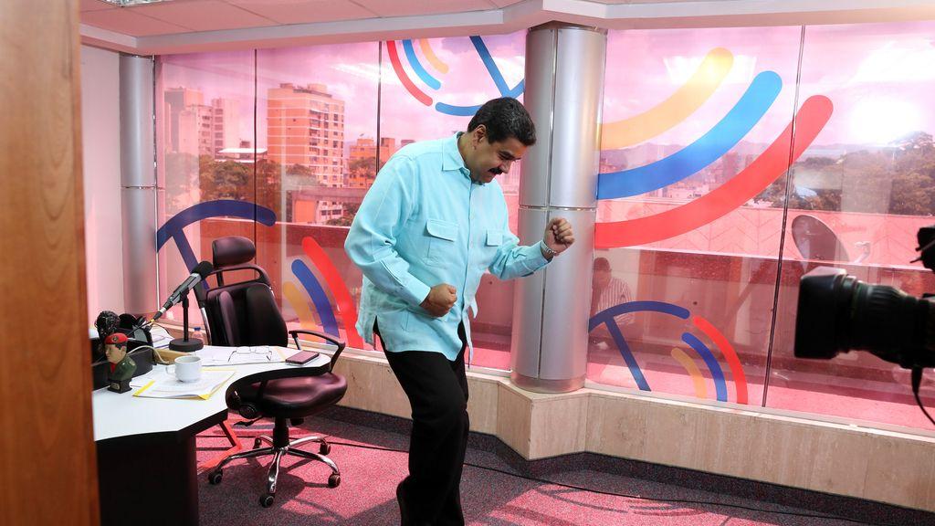 Nicolás Maduro, chavismo a golpe de salsa
