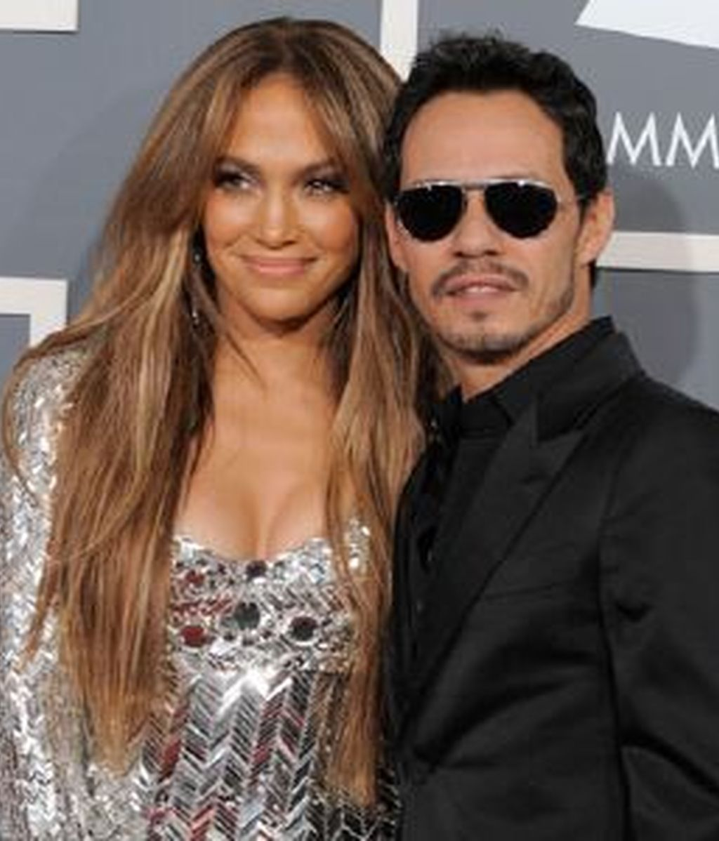 Marc Anthony quiere que Jennifer López recupere sus curvas. Foto: Gtres.