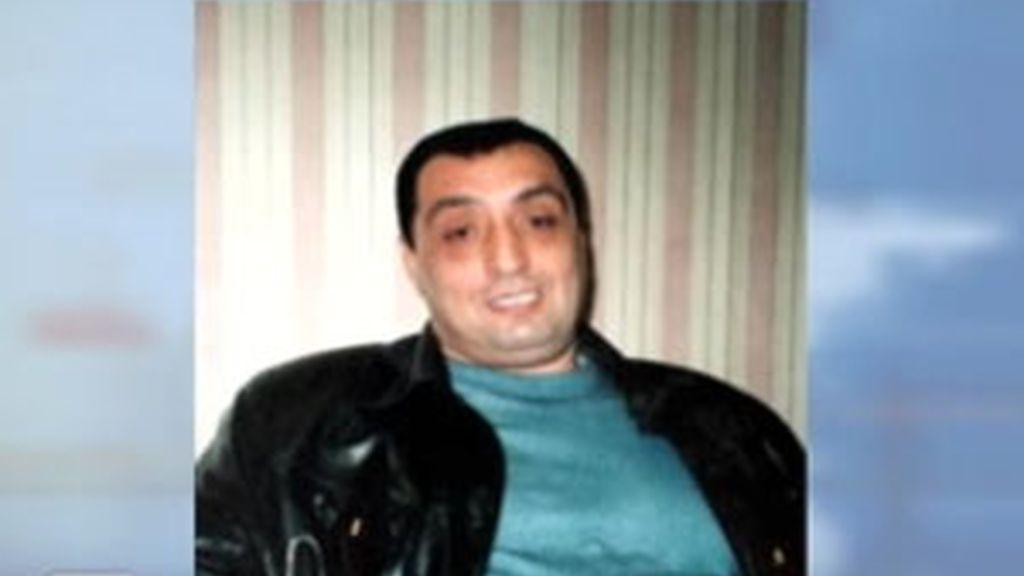 Lasha Shushanasvili consiguió zafarse de la operación policial desarrollada en media docena de países europeos. Foto: Informativos Telecinco.