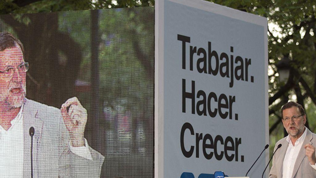 Mitin de Mariano Rajoy en Sevilla