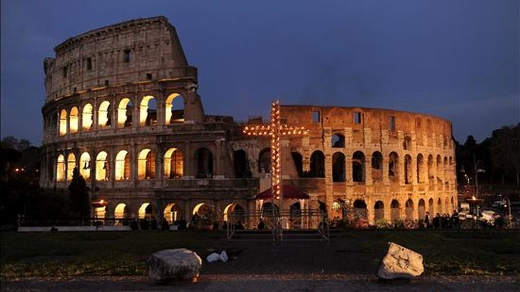 Vista de El Coliseo de Roma. EFE/Archivo