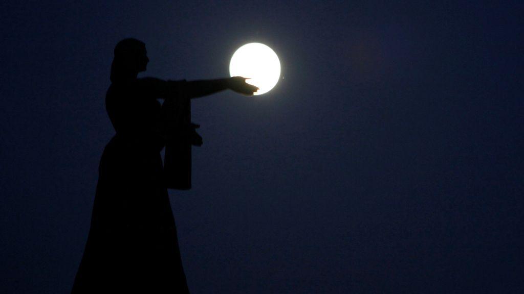 La 'Superluna' que ha cautivado a todo el planeta