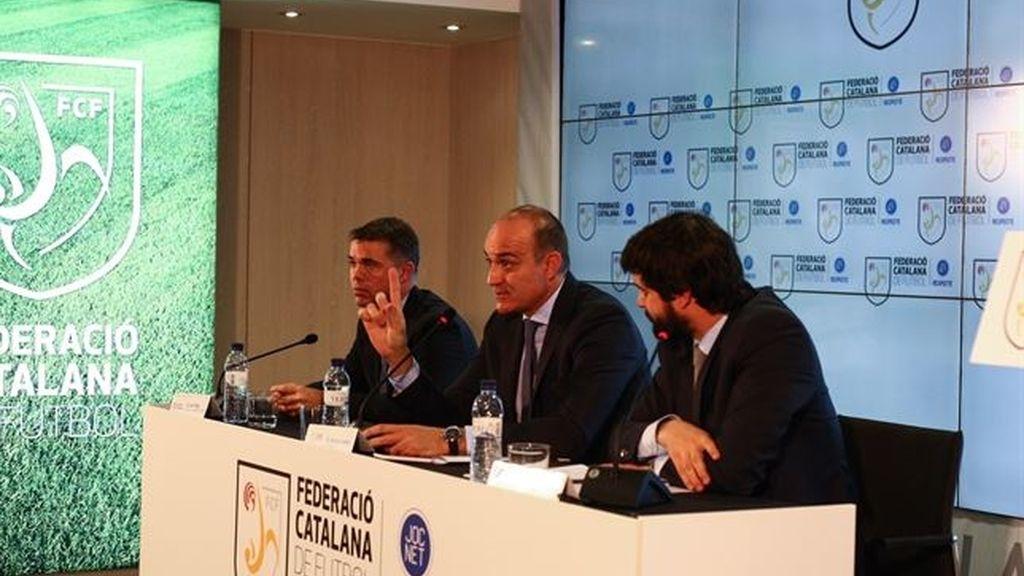 La federación catalana paraliza el fútbol este fin de semana