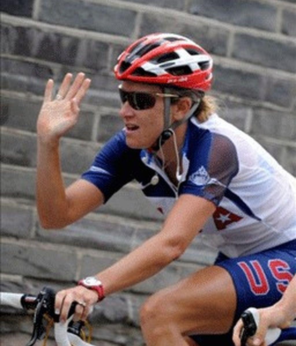 Kristin Armstrong, oro en contrarreloj femenina