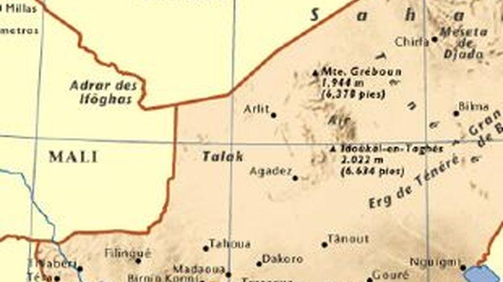 Imagen destacada en marrón de Níger. Foto: www.escolar.com