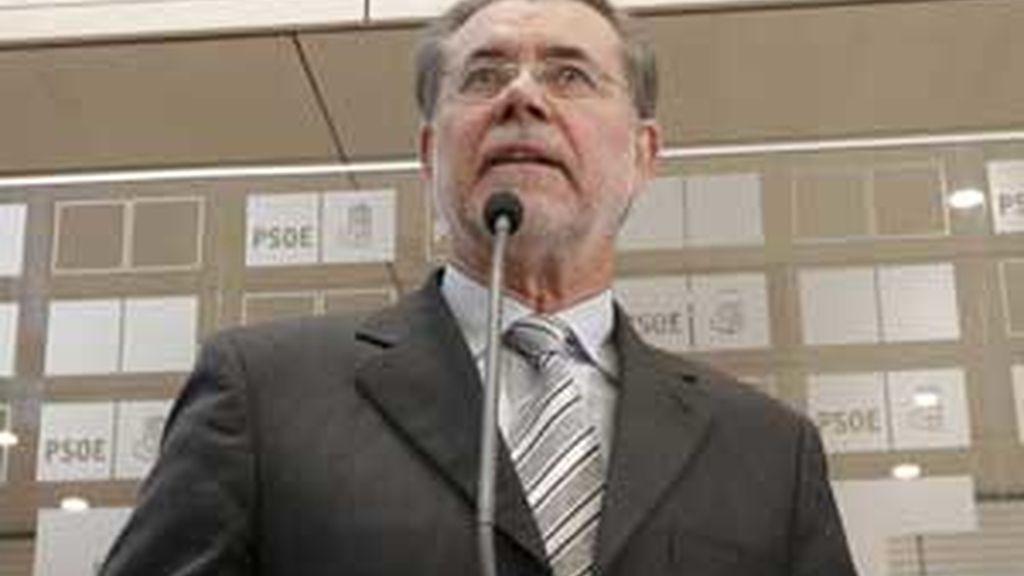 Mariano Bermejo ha avisado a los jueces este martes sobre la posible huelga con la que amenazan. Foto: EFE