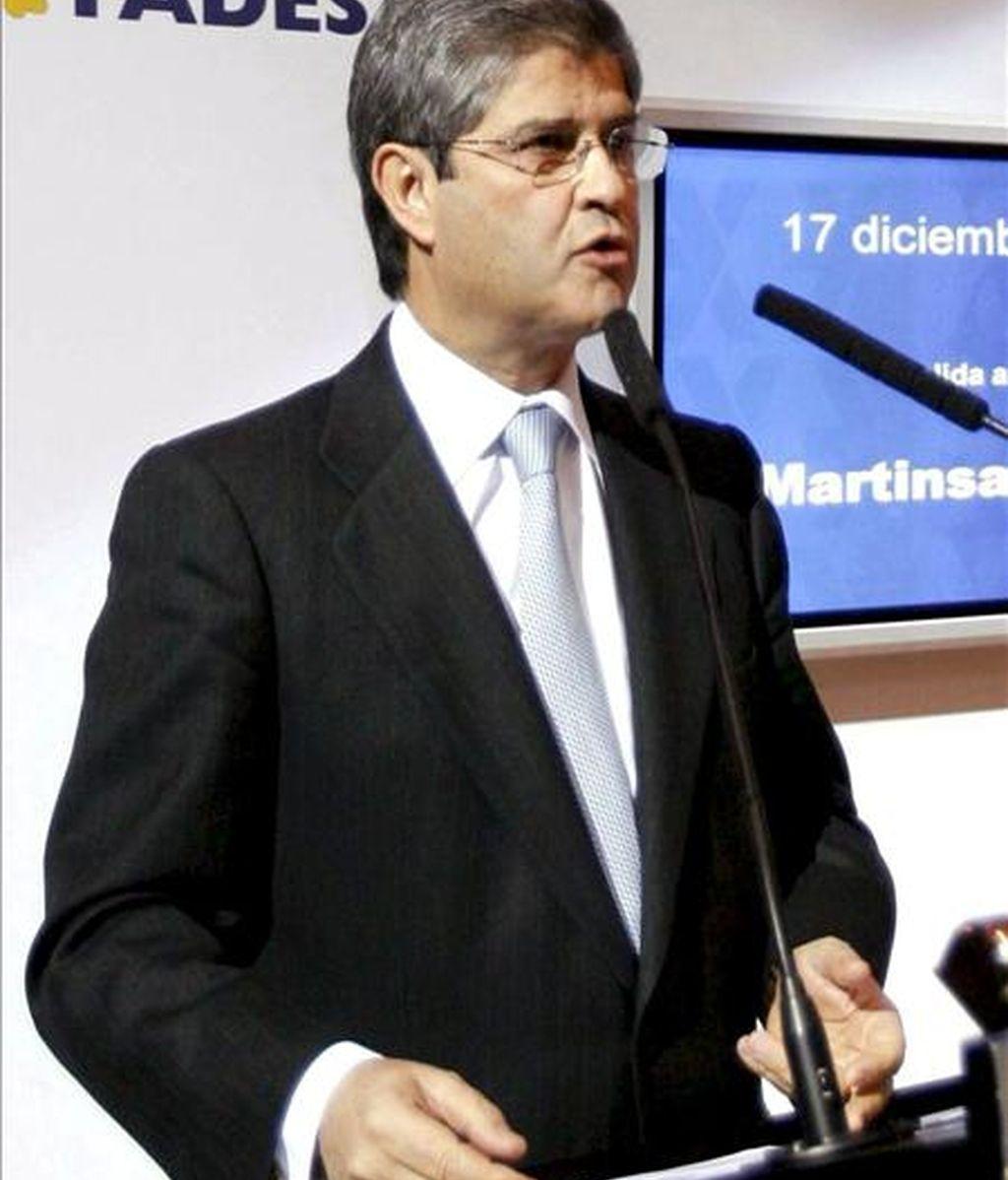 Imagen del presidente de Martinsa-Fadesa, Fernando Martín. EFE/Archivo