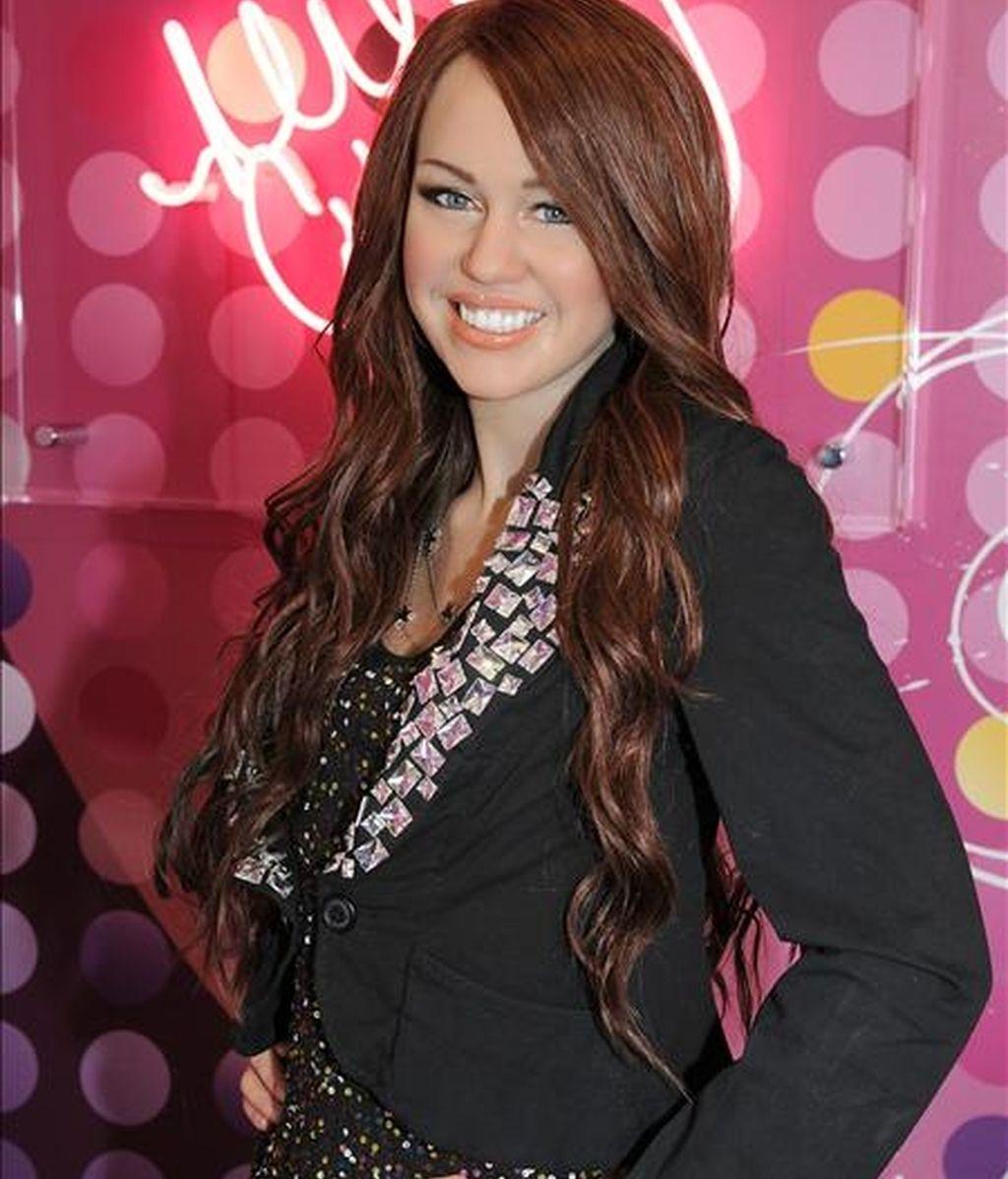 """La actriz de """"Hannah Montana"""", Miley Cyrus. EFE/Archivo"""