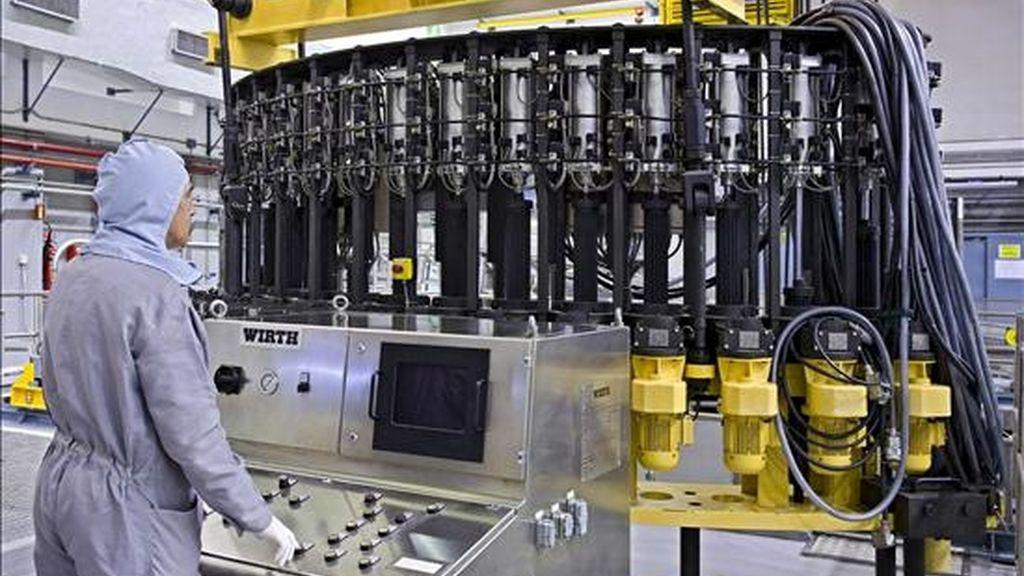 Imagen de archivo de una de las salas de la central nuclear de Santa María de Garoña. EFE/Archivo
