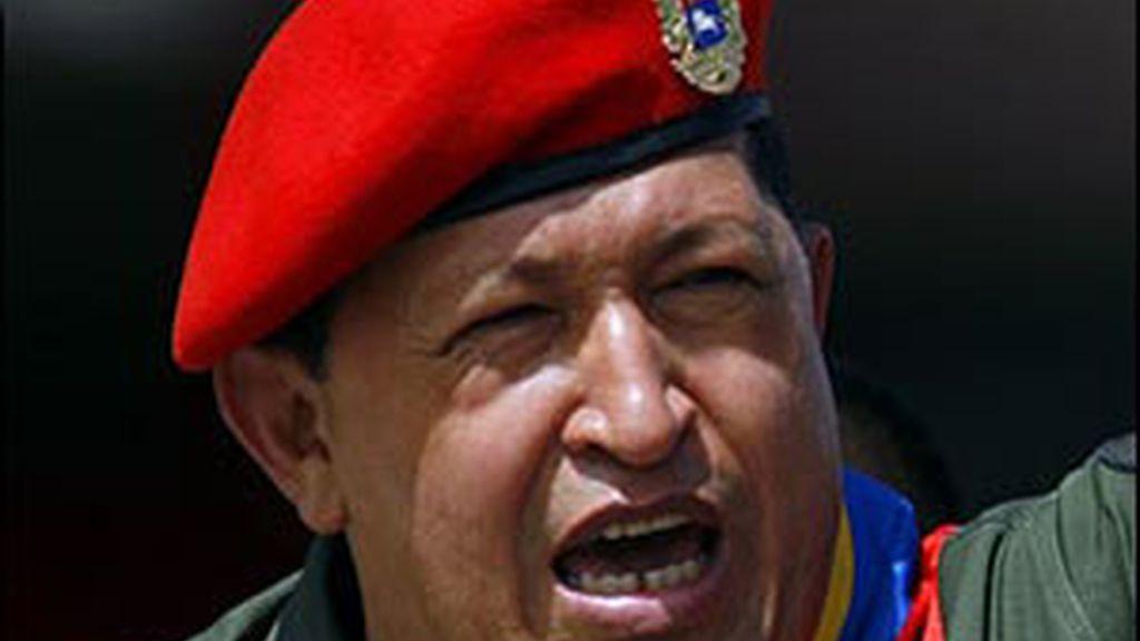 El presidente de Venezuela, Hugo Chávez, repite como el líder peor valorado por los españoles. Foto de archivo