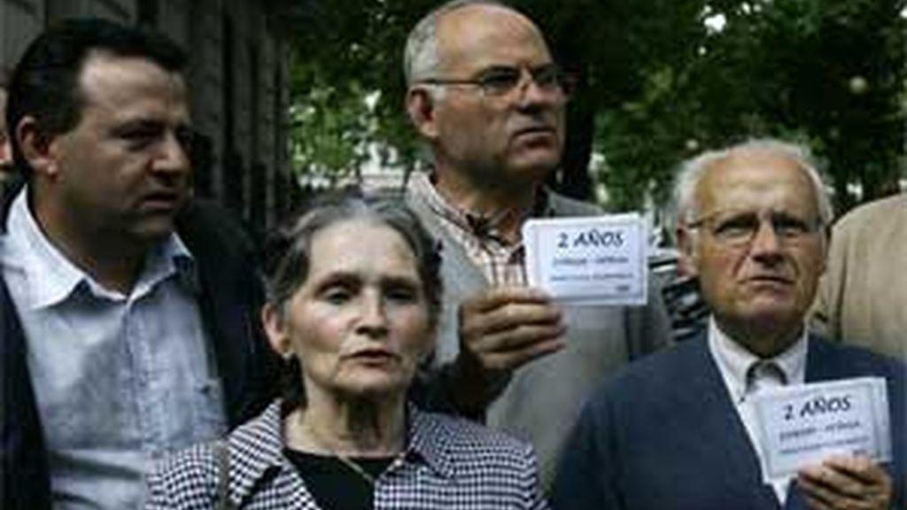 Los afectados de Forum Afinsa protagonizaron manifestaciones en toda España. Foto: EFE