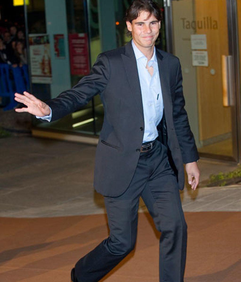 Real Madrid premia a Nadal y sus jugadores se visten de gala