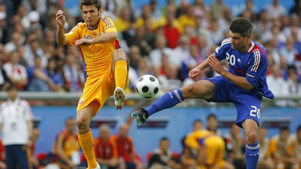 Francia - Rumania (0-0)