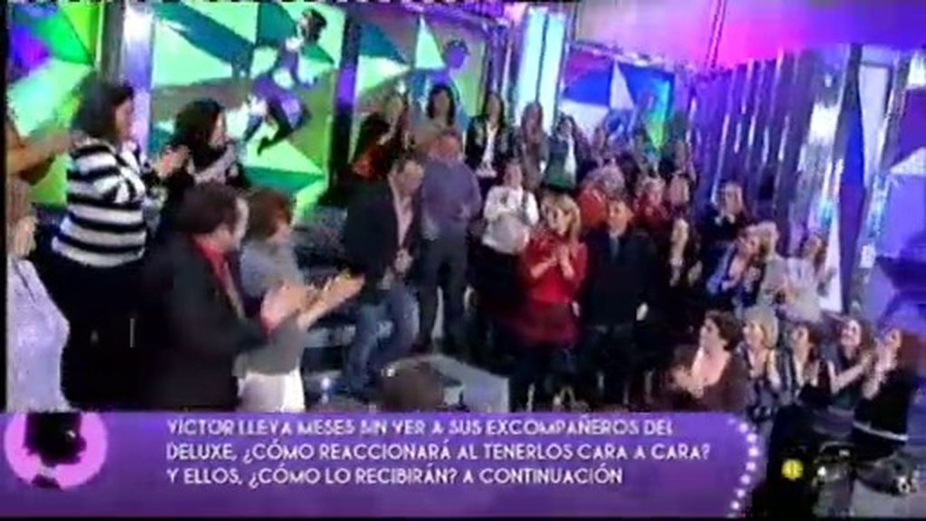 Víctor Sandoval vuelve a 'Sálvame Deluxe'