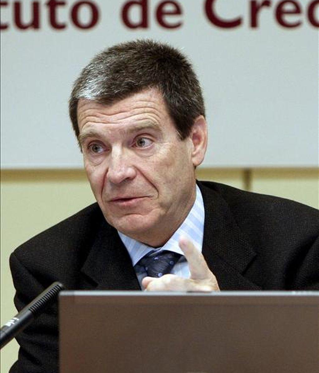 El presidente del ICO, Aurelio Martínez. EFE/Archivo