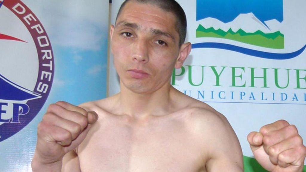 El boxeador chileno Claudio 'La Furia' Aguilar