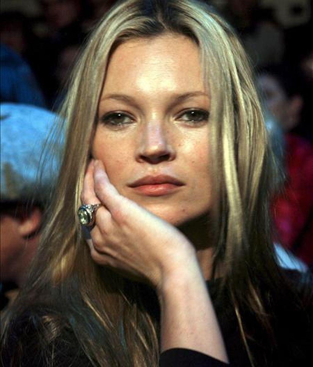 La modelo Kate Moss. EFE/Archivo