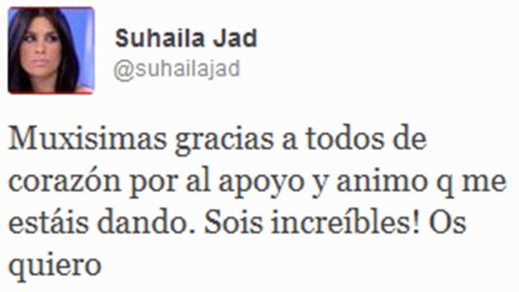 Suhaila en Twitter