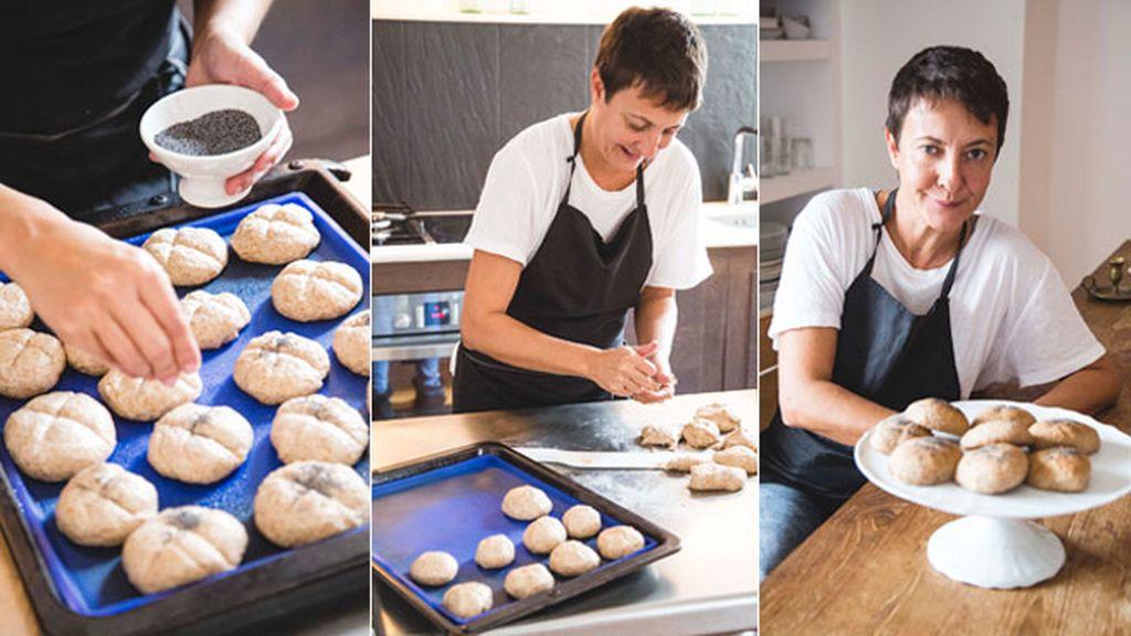 Panecillos de pan integral con tang zhong de la mano de Eva Hache