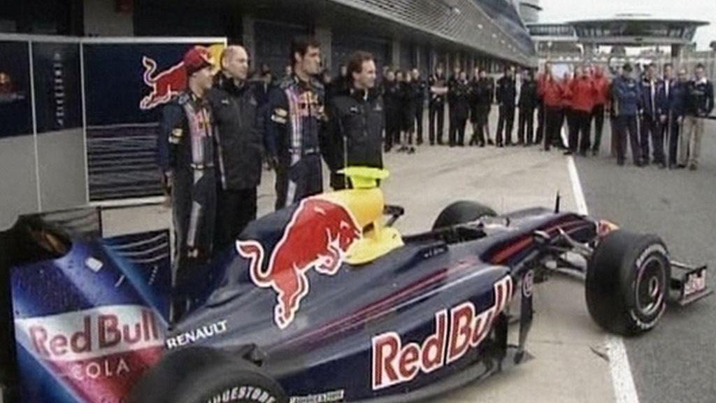 Redbull presenta el RB5