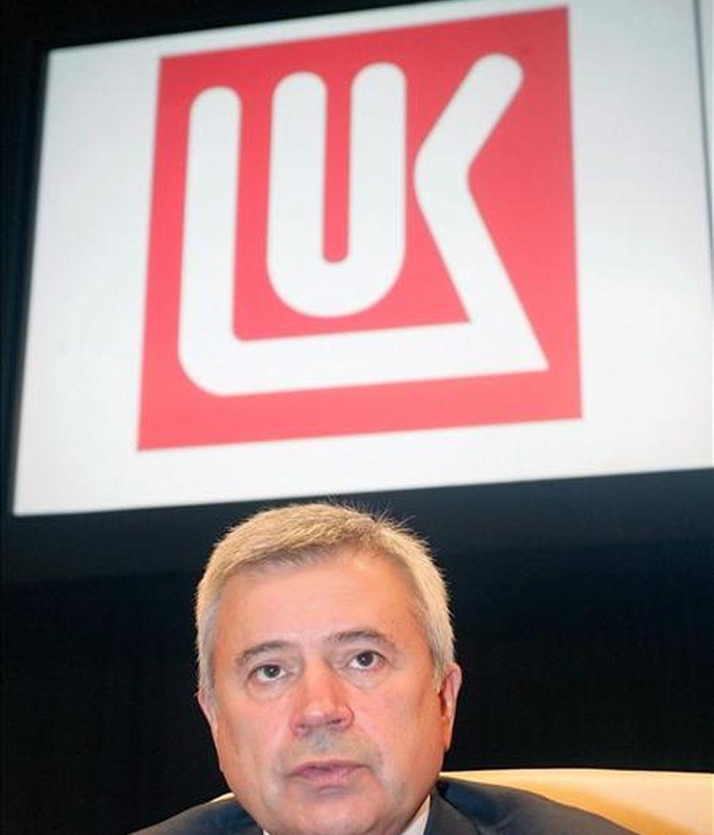 Vagit Alekperov, presidente del gigante petrolero y gasístico ruso, Lukoil. EFE/Archivo