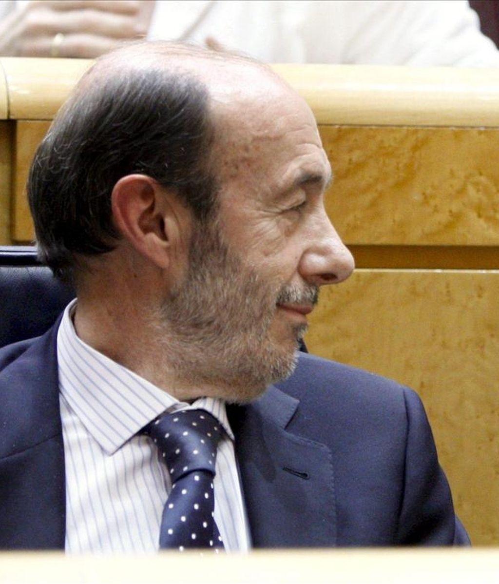 El vicepresidente primero, Alfredo Pérez Rubalcaba. EFE/Archivo