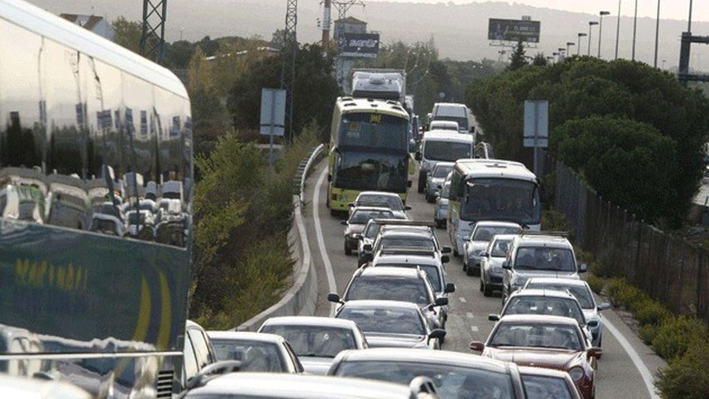 Desvían el tráfico