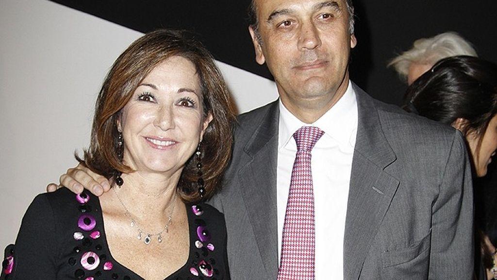 Ana Rosa Quintana y su marido, Juan Muñoz