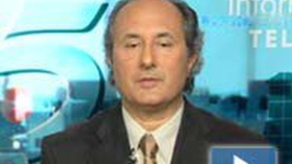 Eugeni Vidal, portavoz de la central de Ascó. Foto: Informativos Telecinco