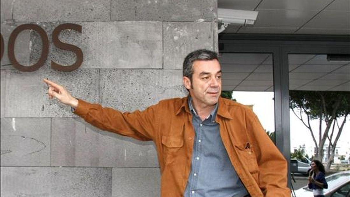 El secretario general del PSOE de la isla, Carlos Espino. EFE/Archivo
