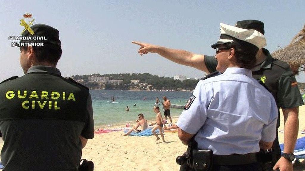 La Guardia Civil patrullará con agentes de cinco países para reforzar la seguridad este verano