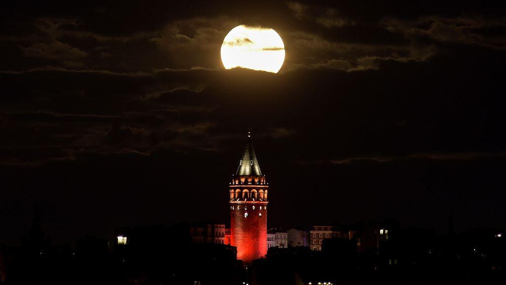 Torre de Gálata en Estambul, Turquía