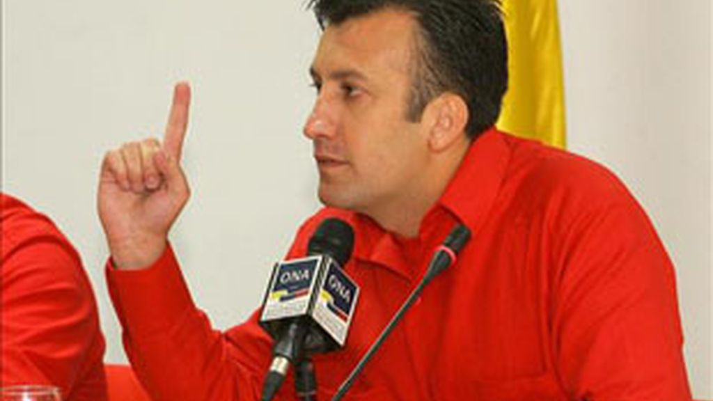 El Ministro de Interior venezolano, Tarek El Aissami. Foto EFE