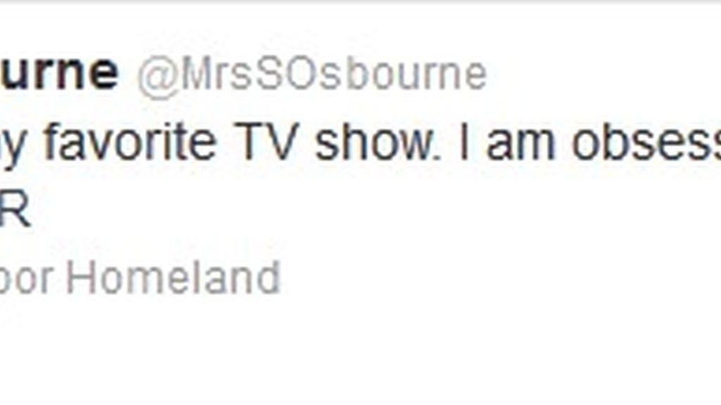 Twitter Sharon Osbourne (Homeland)