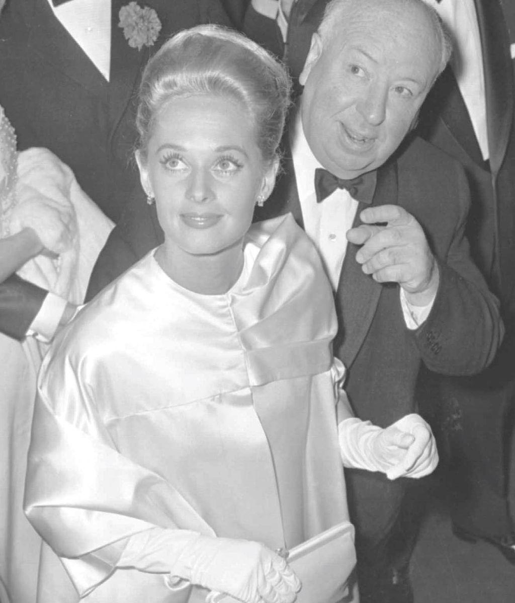 Hitchcock y Tippi