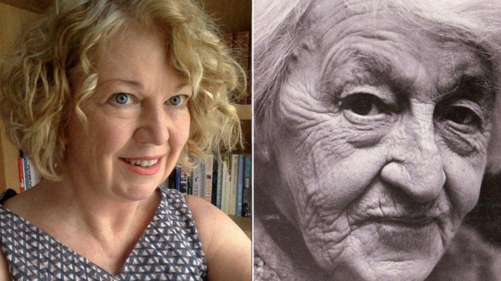 Jane Ennis y su abuela paterna, Kitty Ennis