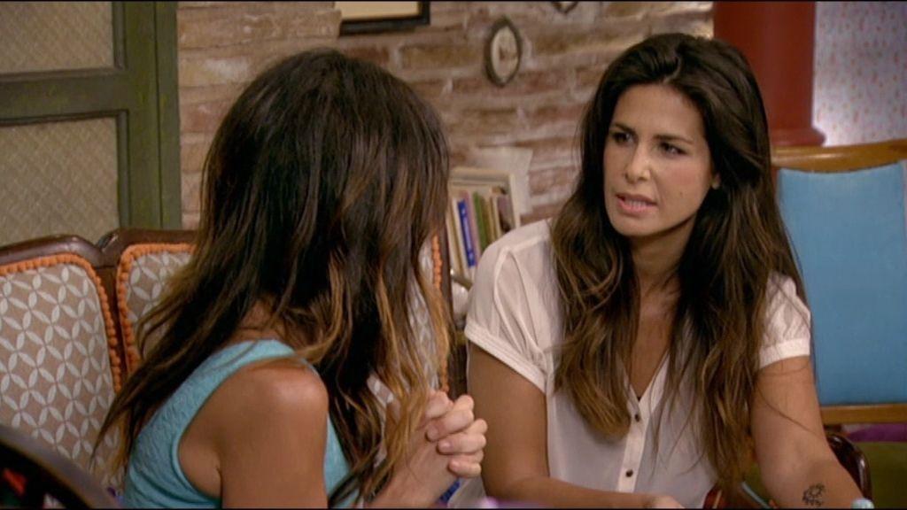 Nuria Roca es Claudia, amiga de Paz