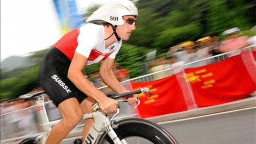 Cancellara campeón de la contrarreloj, Contador cuarto