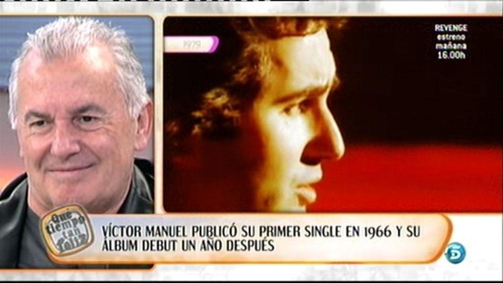 La carrera de Víctor Manuel, en imágenes
