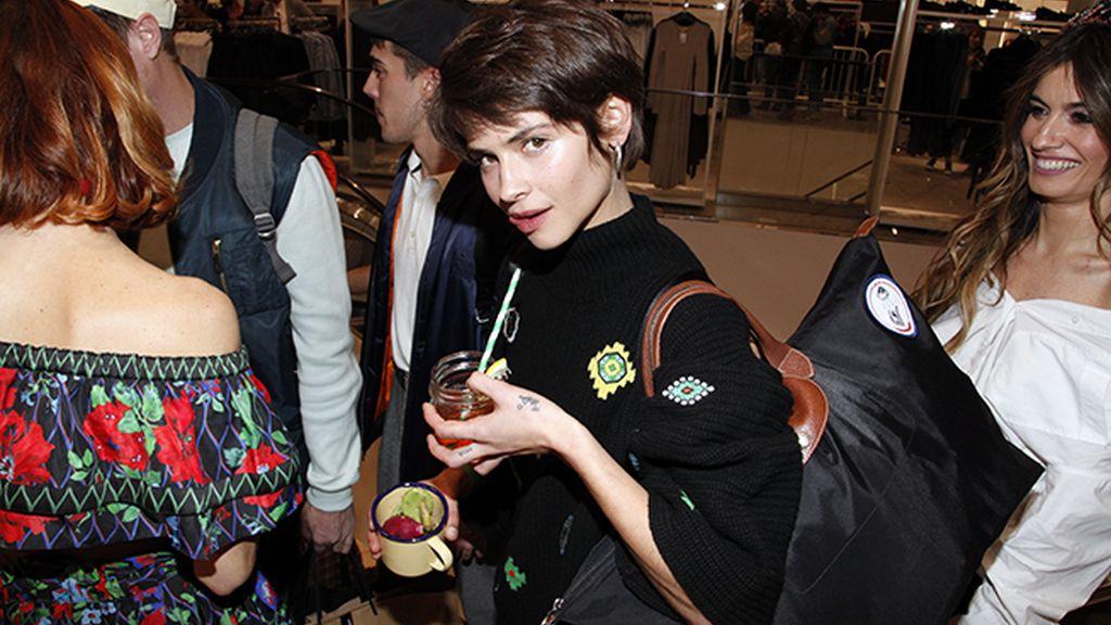 Guapísima Alba Galocha con su nuevo look