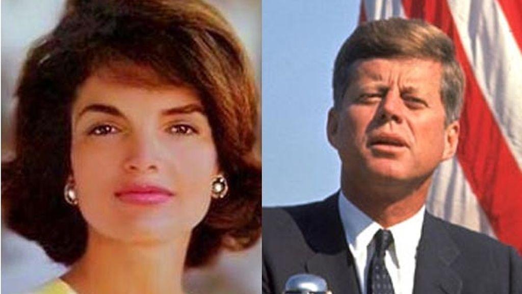Jacqueline Kennedy y John Kennedy