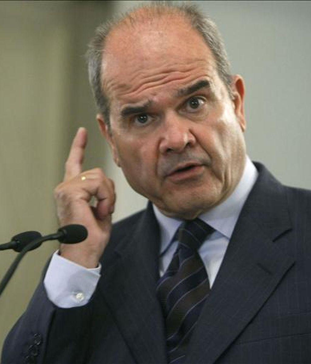 El vicepresidente tercero y ministro de Política Territorial, Manuel Chaves. EFE/Archivo