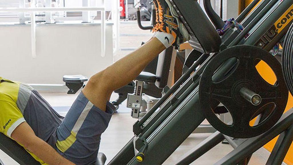Máquina de extensión de piernas