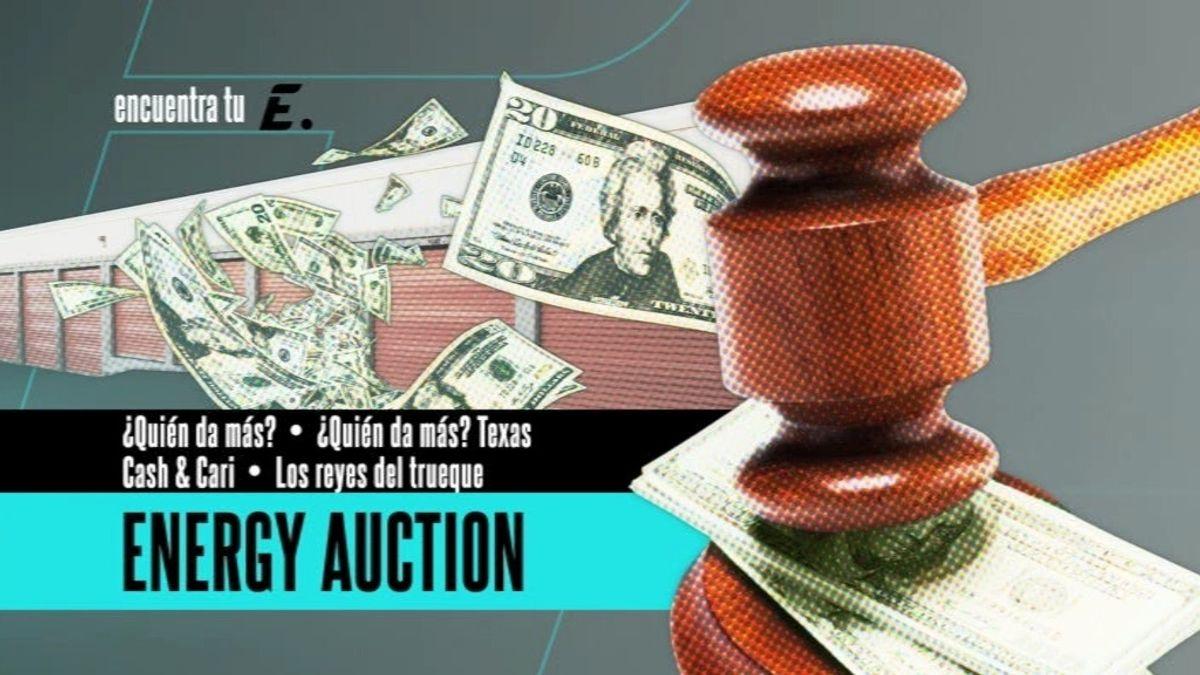 Pujas, embargos y objetos sorprendentes en 'Energy Auction'