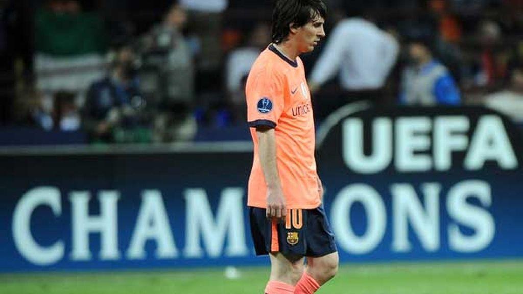 Messi no hizo de las suyas