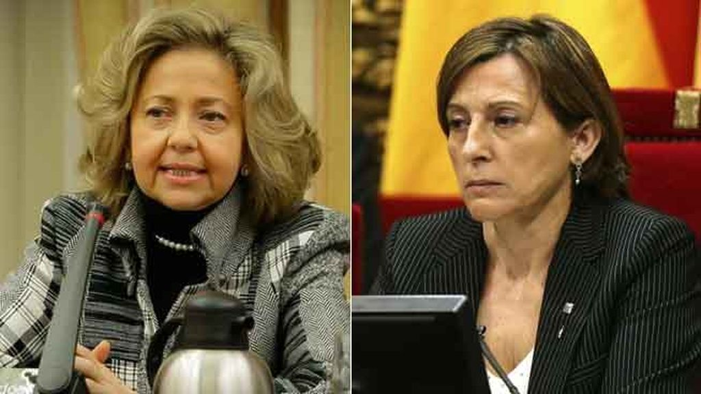 Consuelo Madrigal y Carme Forcadell