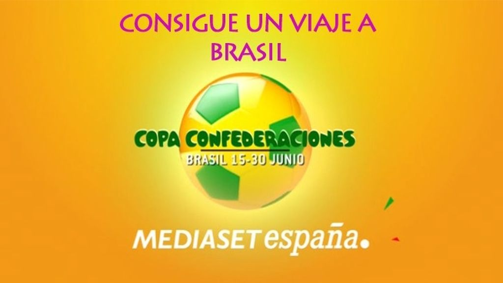 Gana un viaje a Brasil para animar a La Roja