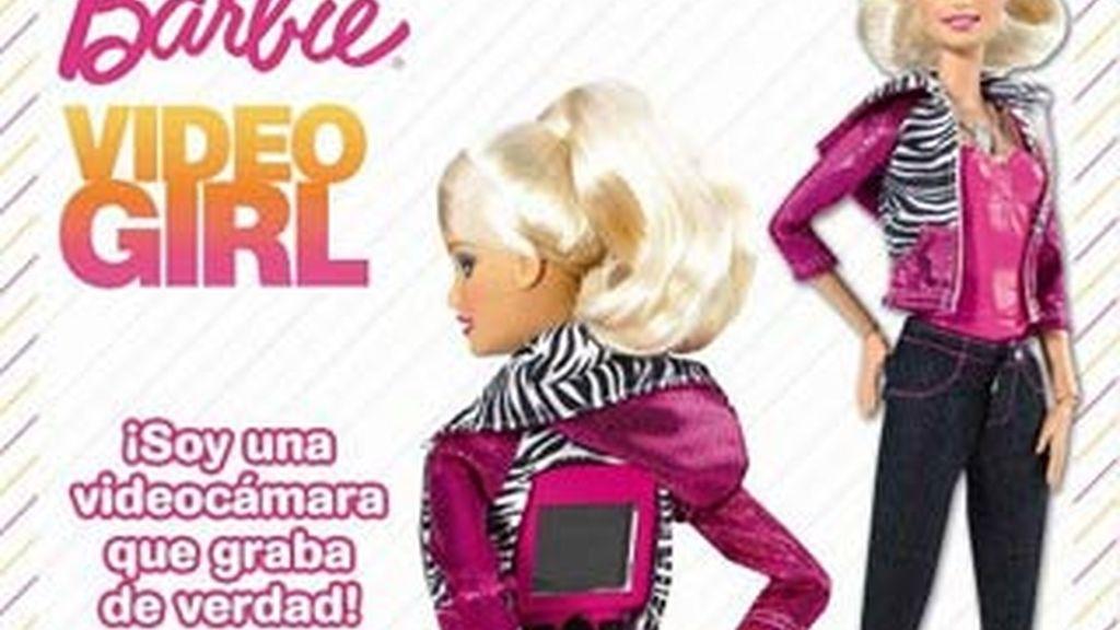 La Barbie Vídeo ha sido elegida muñeca del año 2011.