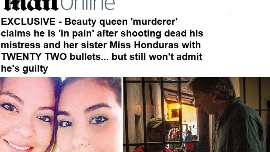 Habla el supuesto asesino de Miss Honduras y su hermana